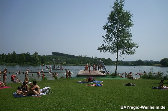 Badeplatz am Dietlhofer See